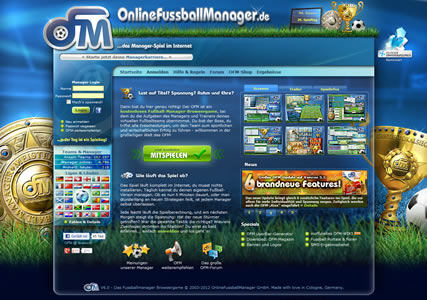 Online Fussball Manager (OFM) 1