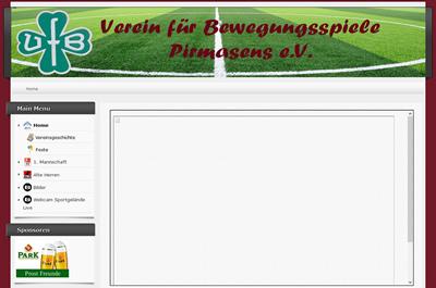 VfB Pirmasens Webseite