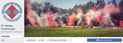 Facebookseite des SV Wacker Frohnhausen