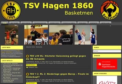 TSV Hagen Webseite