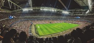 Champions League - Blick ins Stadion