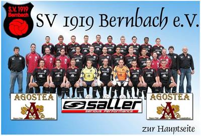 SV Bernbach Webseite