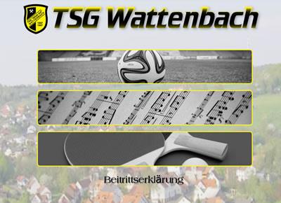 TSG Wattenbach Webseite