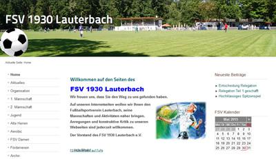 FSV Lauterbach Webseite