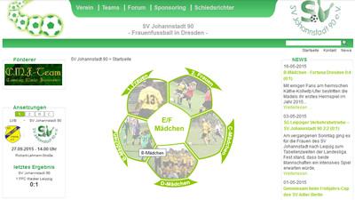 SV Johannstadt 90 Webseite