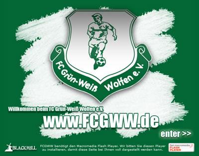 FC Grün-Weiß Wolfen Webseite