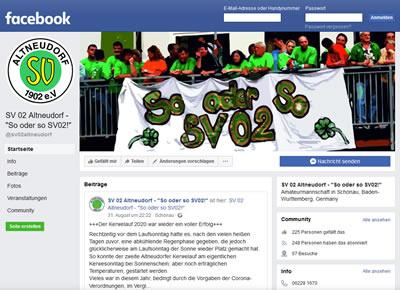 SV Altneudorf 1902 Facebook Seite